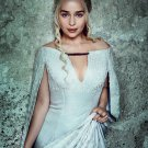 "Game of Thrones Daenerys 13""x19"" (32cm/49cm) Polyester Fabric Poster"