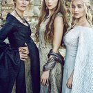 """Game of Thrones Cersei Margaery Daenerys 13""""x19"""" (32cm/49cm) Polyester Fabric Poster"""