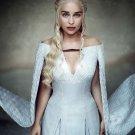 "Game of Thrones Daenerys 18""x28"" (45cm/70cm) Canvas Print"