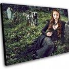 "Game of Thrones Sansa Stark 12""x16"" (30cm/40cm) Canvas Print"