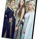 "Game of Thrones Cersei Margaery Daenerys 12""x16"" (30cm/40cm) Canvas Print"