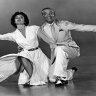 """Cyd Charisse Fred Astaire  18""""x28"""" (45cm/70cm) Canvas Print"""
