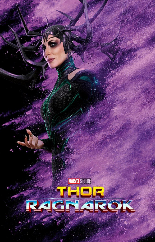 "Thor Ragnarok Hela 13""x19"" (32cm/49cm) Poster"
