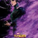 "Thor Ragnarok Hela 13""x19"" (32cm/49cm) Polyester Fabric Poster"