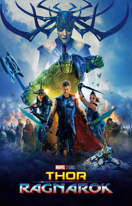 """Thor Ragnarok Hulk Hela Loki 18""""x28"""" (45cm/70cm) Poster"""