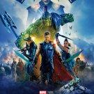 """Thor Ragnarok Hulk Hela Loki 18""""x28"""" (45cm/70cm) Canvas Print"""