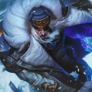"""League of Legends Swain  13""""x19"""" (32cm/49cm) Polyester Fabric Poster"""
