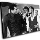 "Muhammad Ali Joe Frazier Don King  12""x16"" (30cm/40cm) Canvas Print"