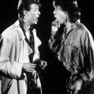 """Mick Jagger David Bowie  13""""x19"""" (32cm/49cm) Polyester Fabric Poster"""