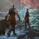 "God of War 4 Game  18""x28"" (45cm/70cm) Canvas Print"