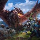 "Monster Hunter  Game  18""x28"" (45cm/70cm) Canvas Print"