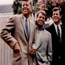 """Robert and John Kennedy 13""""x19"""" (32cm/49cm) Polyester Fabric Poster"""