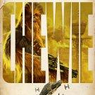 "Solo A Star Wars Story  18""x28"" (45cm/70cm) Canvas Print"