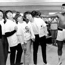 "The Beatles  Muhammad Ali  18""x28"" (45cm/70cm) Canvas Print"