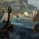 """For Honor Game 18""""x28"""" (45cm/70cm) Canvas Print"""