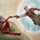 "Deadpool 2 Movie  18""x28"" (45cm/70cm) Canvas Print"
