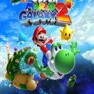 """Super Mario Galaxy 2 Game 18""""x28"""" (45cm/70cm) Canvas Print"""