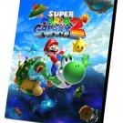 """Super Mario Galaxy 2 Game 12""""x16"""" (30cm/40cm) Canvas Print"""