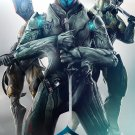 """Warframe Game  13""""x19"""" (32cm/49cm) Polyester Fabric Poster"""
