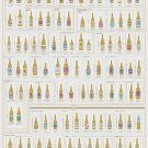 """99 Bottles of Craft Beer on the Wall Chart  18""""x28"""" (45cm/70cm) Canvas Print"""