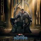"""Black Panther Movie 13""""x19"""" (32cm/49cm) Polyester Fabric Poster"""
