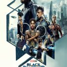 "Black Panther Movie 13""x19"" (32cm/49cm) Polyester Fabric Poster"