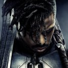 "Black Panther Movie 18""x28"" (45cm/70cm) Canvas Print"
