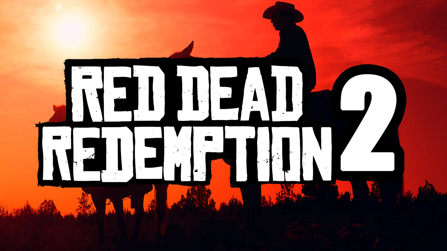 """Red Dead Redemption 2 Game 18""""x28"""" (45cm/70cm) Poster"""