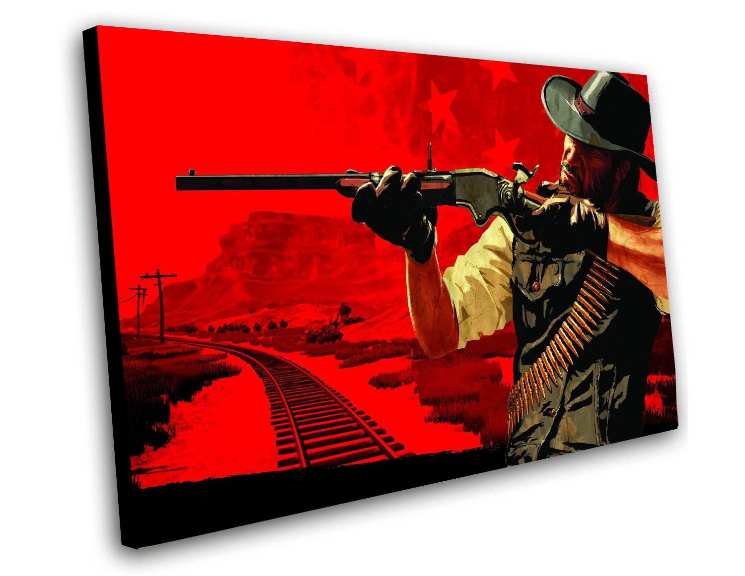 "Red Dead Redemption 2 Game 12""x16"" (30cm/40cm) Canvas Print"