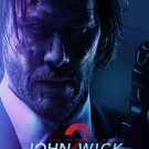 "John Wick 2 Keanu Reeves 13""x19"" (32cm/49cm) Polyester Fabric Poster"