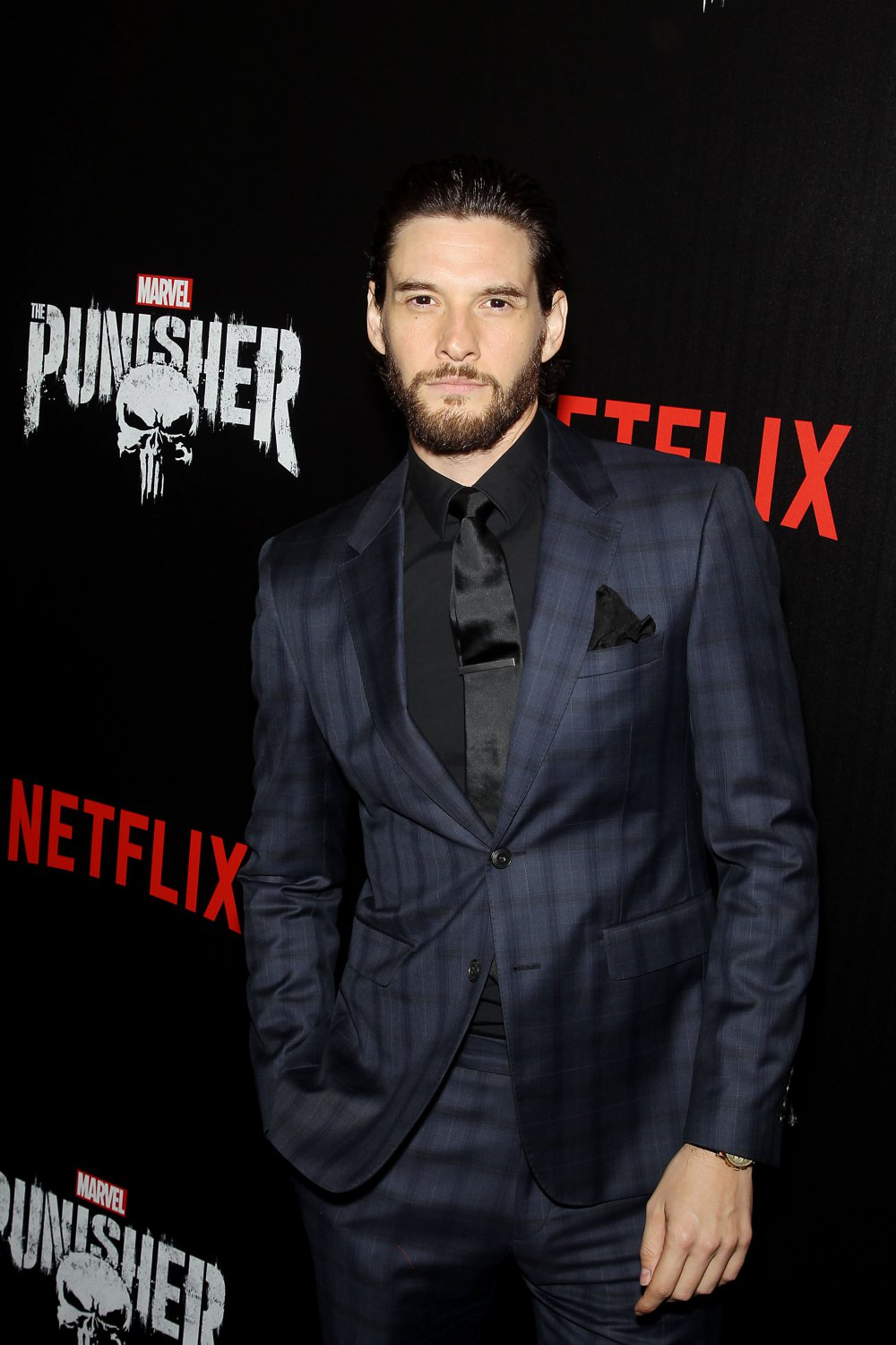 "The Punisher Netflix Billy Russo Ben Barnes 13""x19"" (32cm/49cm) Polyester Fabric Poster"