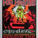 "Foo Fighters Spearhead Rock Concert 18""x28"" (45cm/70cm) Poster"