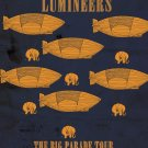 "The Lumineers The Big Parade Tour 13""x19"" (32cm/49cm) Polyester Fabric Poster"