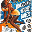 "Boarding House Blues 13""x19"" (32cm/49cm) Polyester Fabric Poster"