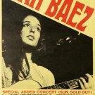 "Joan Baez Concert 13""x19"" (32cm/49cm) Polyester Fabric Poster"