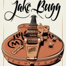 """Jake Bugg Metro Chicago Tour Concert 13""""x19"""" (32cm/49cm) Polyester Fabric Poster"""