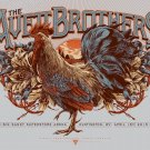 "The Avett Brothers Big Sandy Superstore Arena Concert 13""x19"" (32cm/49cm) Polyester Fabric Poster"