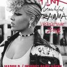 "Pink Beautiful Trauma World Tour 2018 18""x28"" (45cm/70cm) Canvas Print"