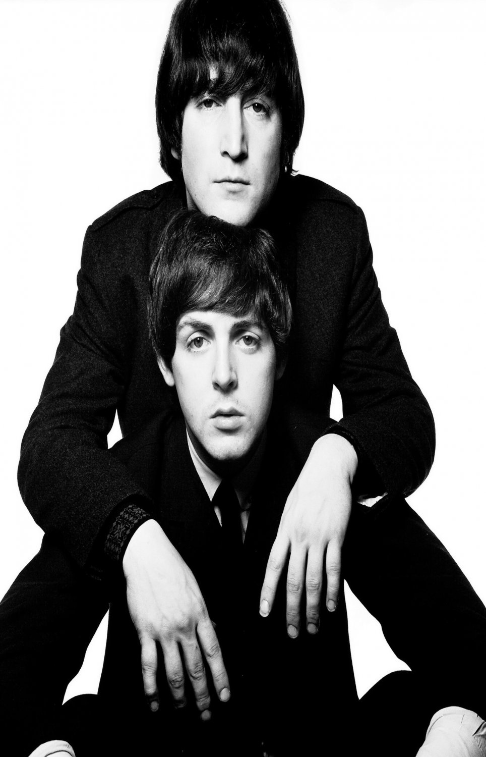 "John Lennon  Paul McCartney  18""x28"" (45cm/70cm) Poster"