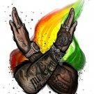 """Nicky Jam  J  Balvin  18""""x28"""" (45cm/70cm) Poster"""