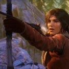 "Rise of the Tomb Raider Lara Croft 18""x28"" (45cm/70cm) Canvas Print"