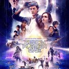 """Ready Player One Movie 2018  13""""x19"""" (32cm/49cm) Polyester Fabric Poster"""