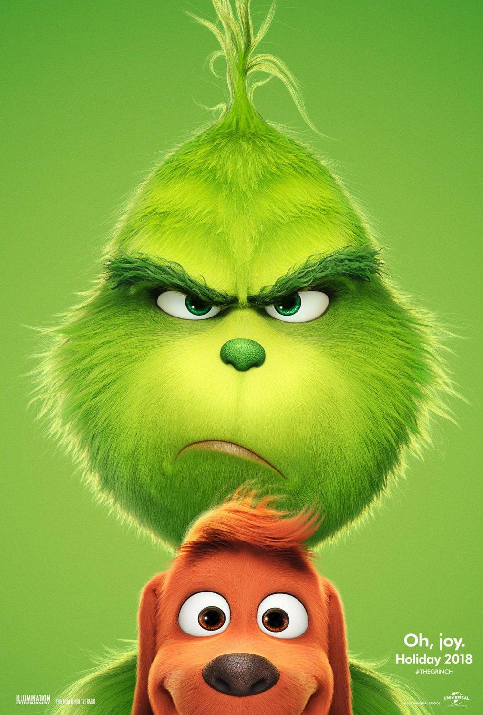 "The Grinch 2018 Movie 18""x28"" (45cm/70cm) Poster"