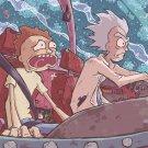 "Rick and Morty  18""x28"" (45cm/70cm) Canvas Print"