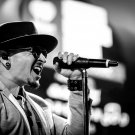 "Chester Bennington 18""x28"" (45cm/70cm) Canvas Print"