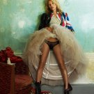 """Kate Moss 13""""x19"""" (32cm/49cm) Polyester Fabric Poster"""