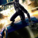 """Black Panther 2018 Movie   13""""x19"""" (32cm/49cm) Polyester Fabric Poster"""
