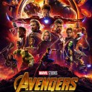 "Avengers Infinity War Movie 2018  13""x19"" (32cm/49cm) Polyester Fabric Poster"