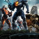 "Pacific Rim Uprising  Movie 2018  13""x19"" (32cm/49cm) Polyester Fabric Poster"