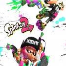 "Splatoon 2 Game  13""x19"" (32cm/49cm) Polyester Fabric Poster"